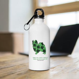Print on Demand - Lucky Pap Stainless Steel Water Bottle