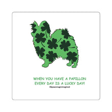 Print on Demand - Lucky Pap Square Stickers
