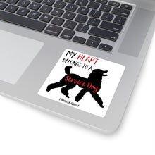 Print on Demand - Service Poodle Sticker