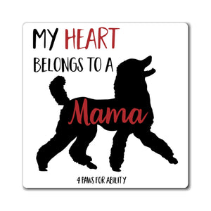 Print on Demand - Mama Poodle Magnet