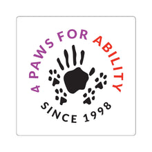 Print on Demand - 4 Paws Square Sticker