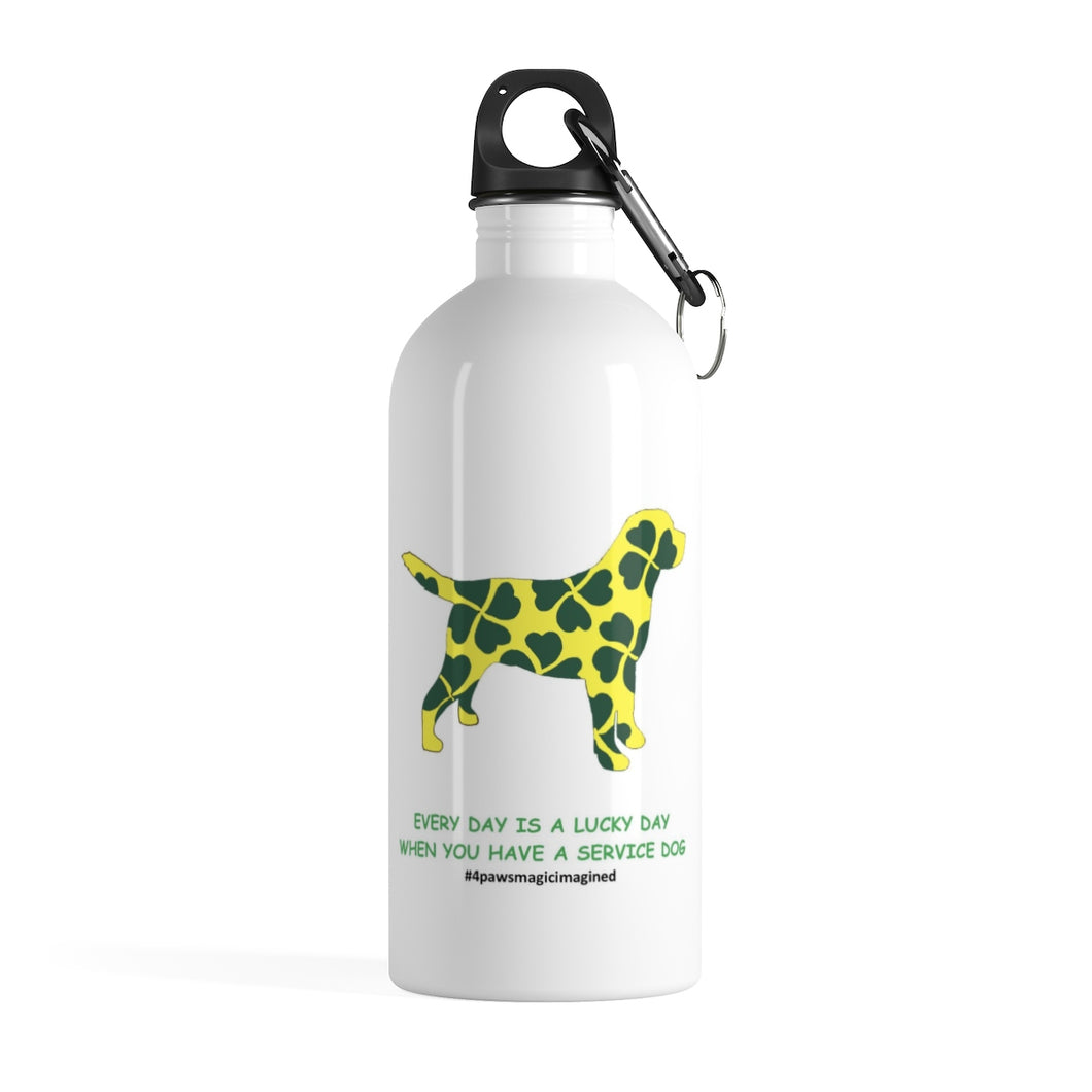 Print on Demand - Lucky SD LAB Stainless Steel Water Bottle