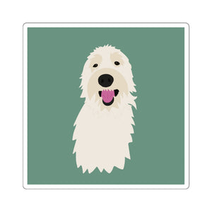Print on Demand - 4 Paws Spunky Doodle Sticker