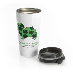 Print on Demand - Lucky SD Pap Stainless Steel Travel Mug