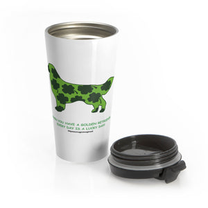 Print on Demand - Lucky Golden Stainless Steel Travel Mug