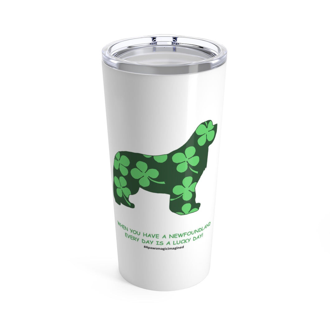Print on Demand - Lucky Newf Tumbler 20oz
