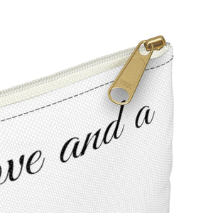 Print on Demand - Love and A Lab Zipper Pouch