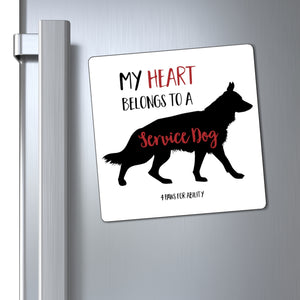 Print on Demand - Service German Shepherd Magnet