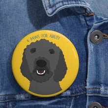 Print on Demand - Poodle Pin Buttons