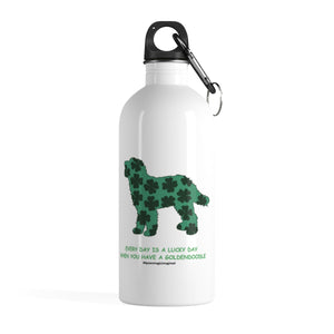 Print on Demand - Lucky Doodle Stainless Steel Water Bottle