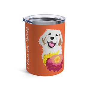 Print on Demand - Dog Mom Golden 10oz Tumbler