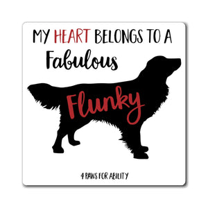 Print on Demand - Golden Fabulous Flunky Magnet