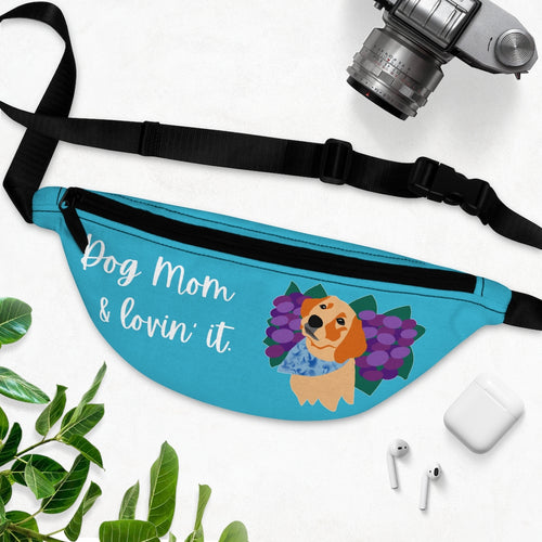 Print on Demand - Dog Mom Lab Fanny Pack