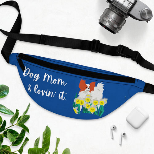 Print on Demand - Dog Mom Papillon Fanny Pack
