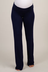 Navy Long Maternity Yoga Pant