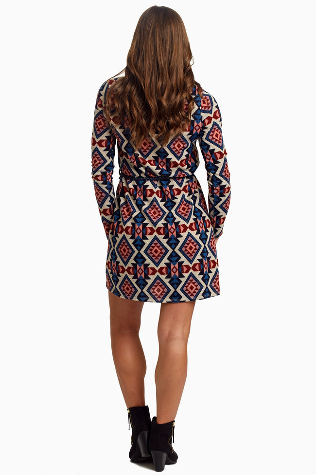 Tribal Woven Belt Knit Tunic