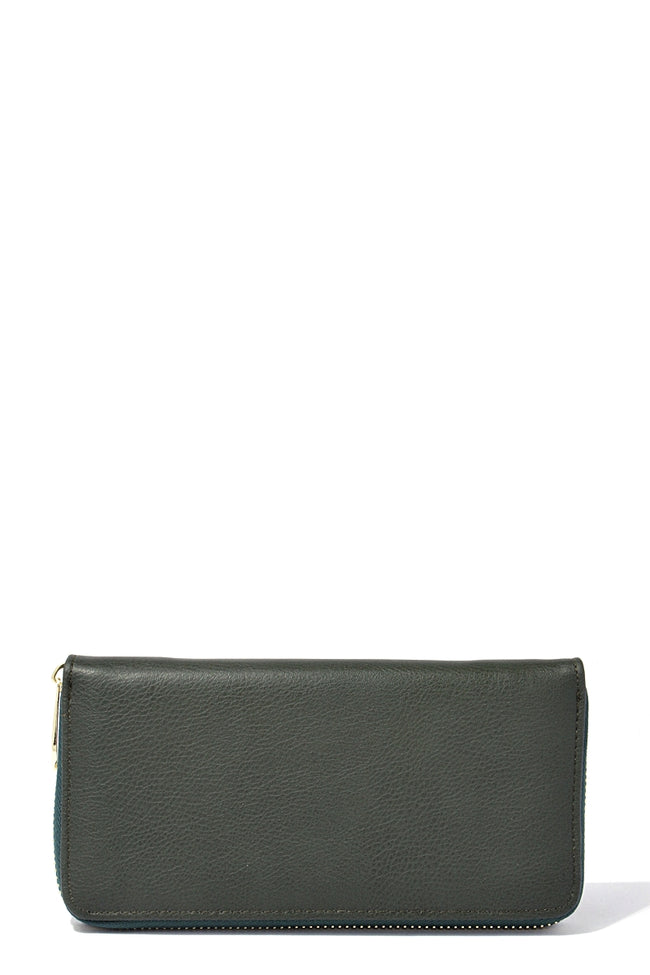Olive Leather Wallet