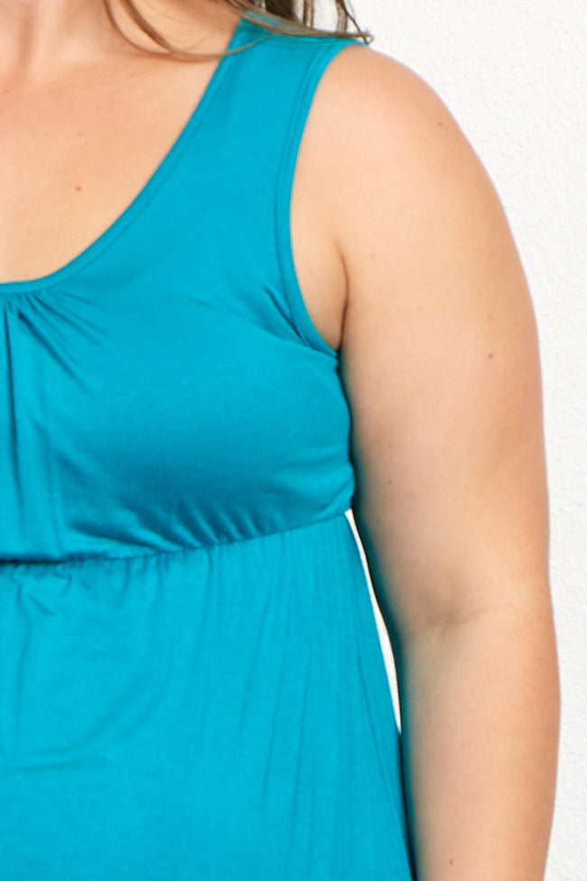 Jade Basic Plus Size Maternity Tank Top