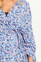 Blue Daisy Delivery/Nursing Maternity Robe