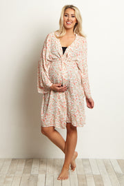Ivory Daisy Delivery/Nursing Maternity Robe