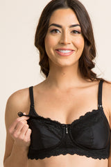 Black Hotmilk Eclipse Maternity/Nursing Bra