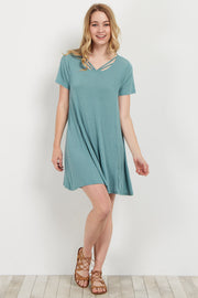 Jade Strappy Front Shift Dress