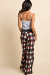 Black Plaid Pajama Pants