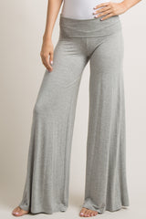 Heather Grey Foldover Lounge Pants