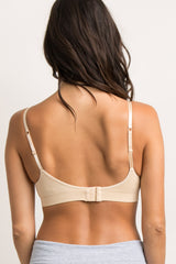 Nude Bralette With Adjustable Hooks