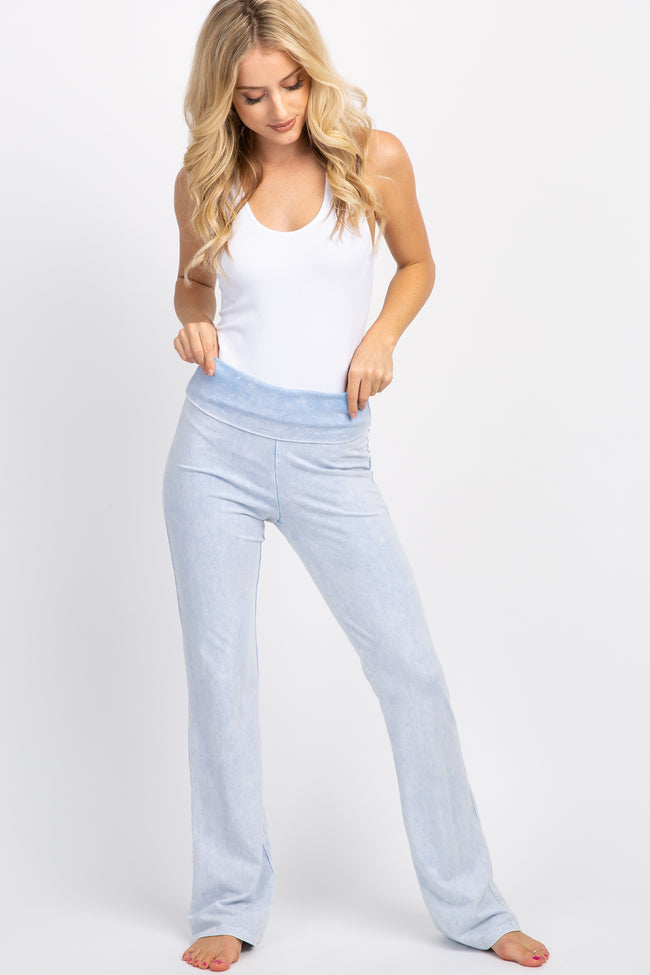 Light Blue Faded Wash Lounge Pants