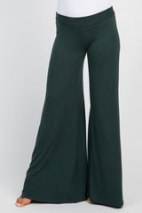 Forest Green Wide Leg Lounge Pants