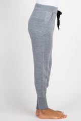 Heather Grey Glitter Joggers