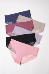 Multi-Color Lace Seamless Underwear Set