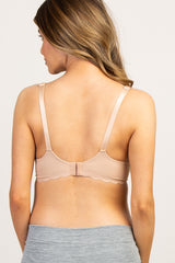 Nude Cache Coeur Solid Scalloped Maternity/Nursing Bra