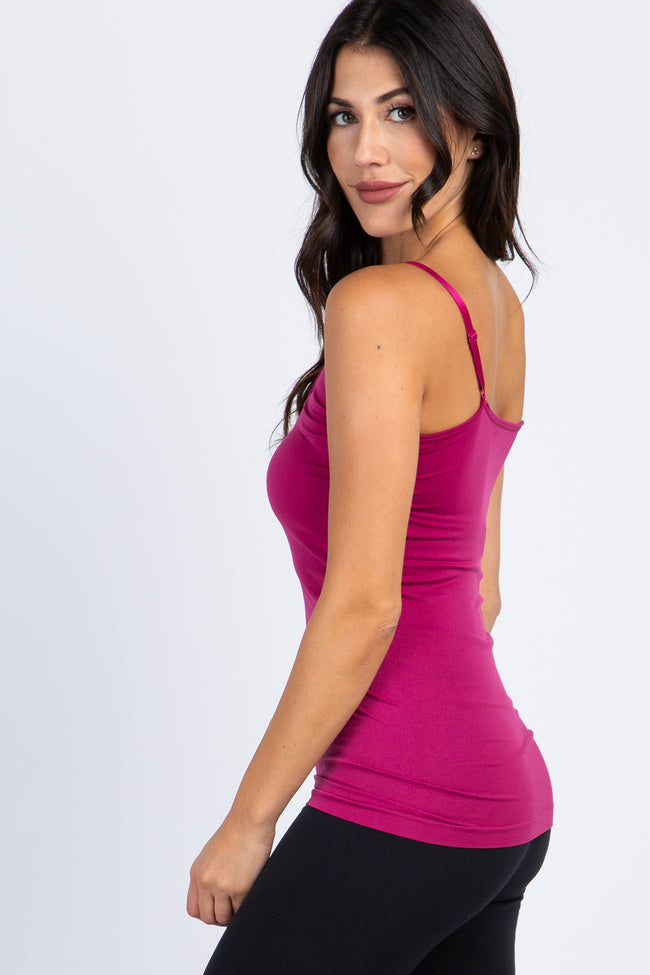 Magenta Caged Front Cami