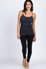 Charcoal Basic Cami Tunic
