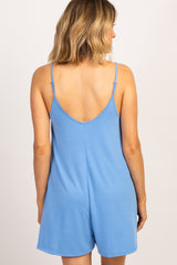 Light Blue Cami Strap Romper
