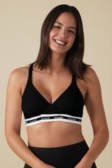 Black Bravado Colorblock Maternity/Nursing Bra