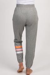 Heather Grey Solid Pajama Pants