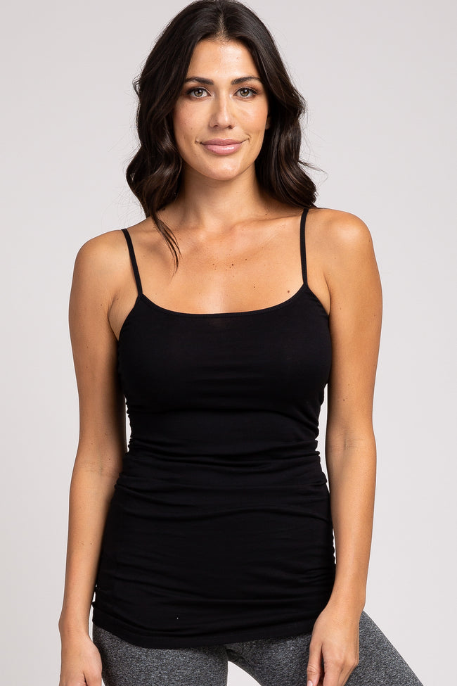 Black Fitted Tunic Cami