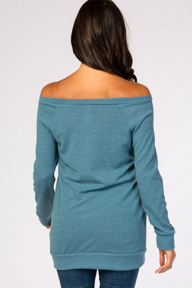 Light Blue Basic Sweater