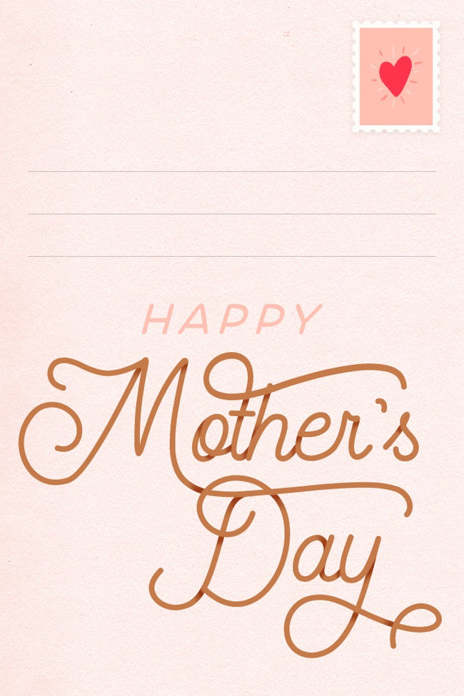 PinkBlush Happy Mother's Day Letter Email Gift Card
