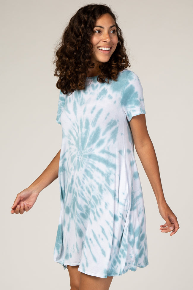 Waverleigh Mint Tie Dye Dress