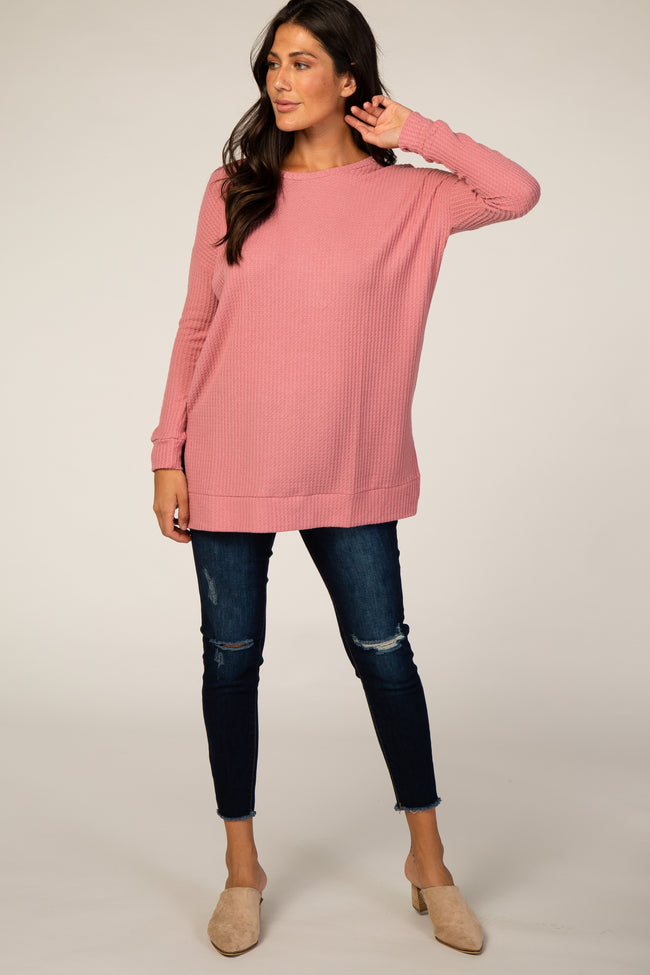 Pink Thermal Tunic