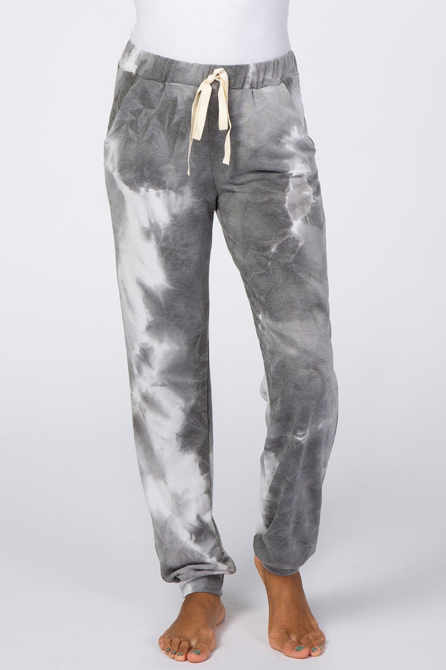 Charcoal Tie Dye Lounge Pants