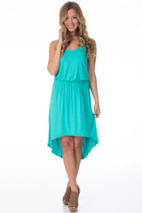 Mint Hi-Low Dress