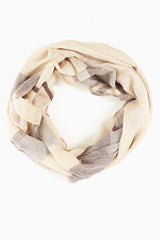 Shades of Brown Striped Scarf