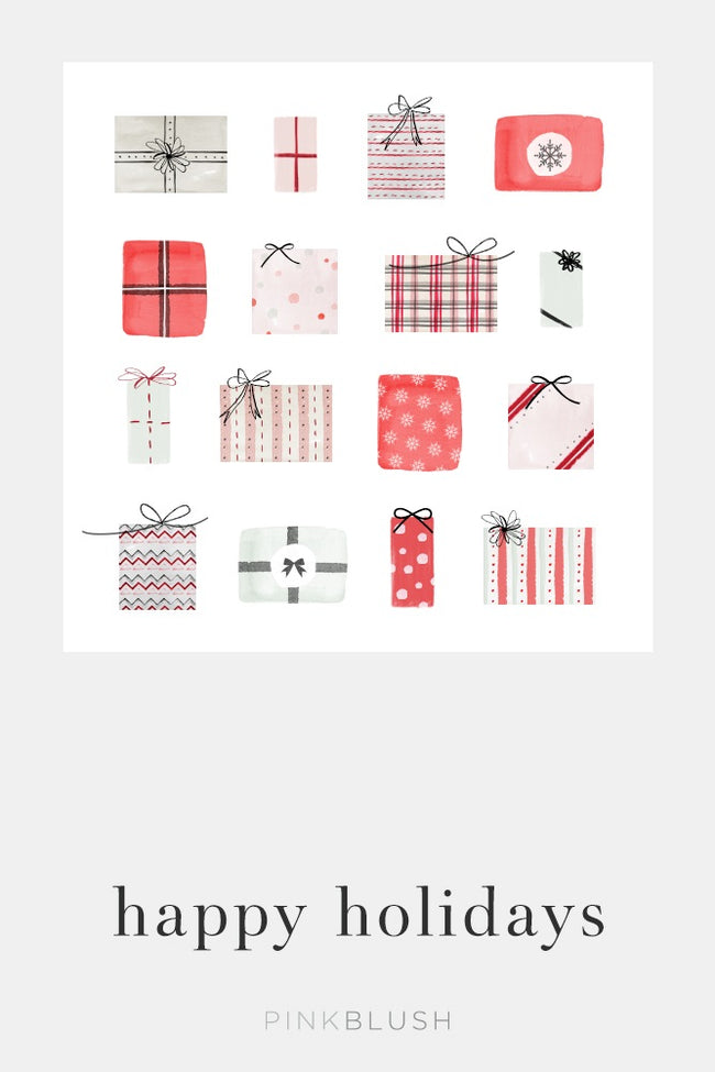PinkBlush Holiday Gift Email Gift Card