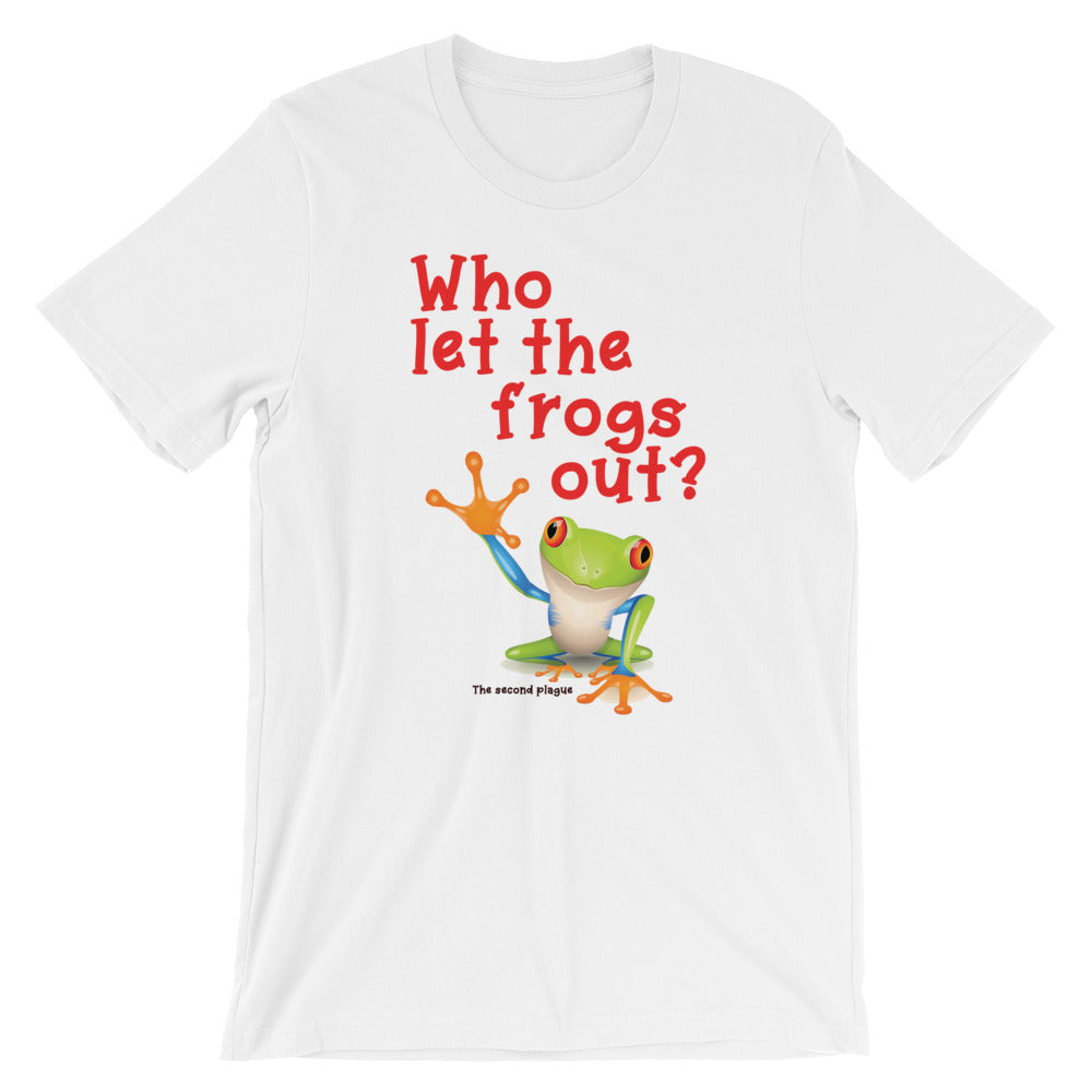 Who Let The Frogs Out T-Shirt - Tee Gurls