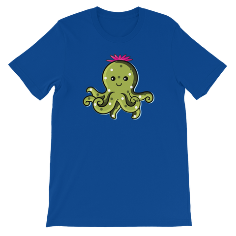 Cactopus Cartoon T-Shirt - Tee Gurls